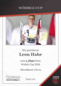Leon Hahr