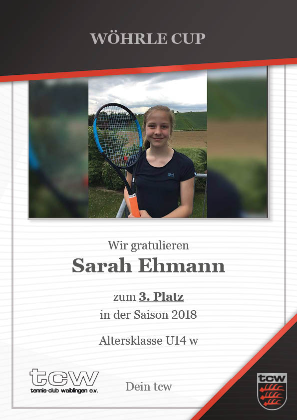 Sarah Ehmann