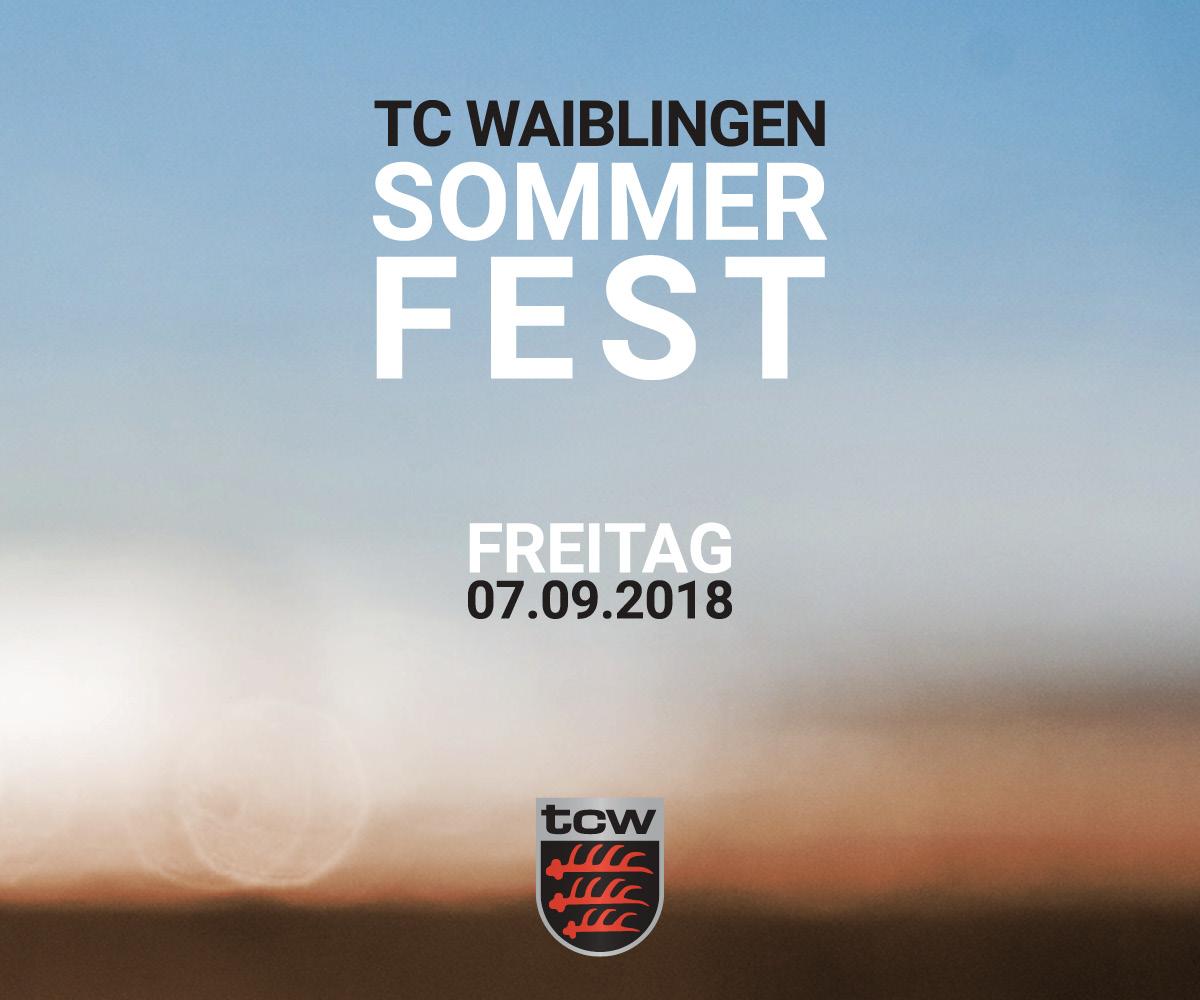 Sommerfinale mit mannschaftsehrung tc waiblingen 1926 - Mobel waiblingen ...